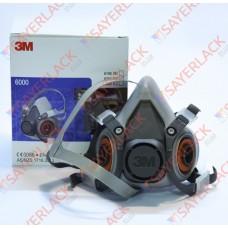 Полумаска 3М без фильтров серия 6000