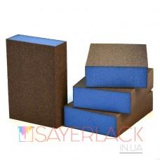 Абразивная губка 4-х сторонняя SIA Abrasives 98х69х26мм  S8566.0080