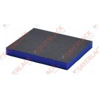 Шлифовальная 2-х сторонняя губка SIA Abrasives 98х120х13 мм