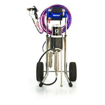 Поршневой окрасочный аппарат с пневмоприводом Graco Merkur 30:1